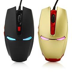 6d jogos mouse óptico 2400dpi 7 LED cores mudam automaticamente