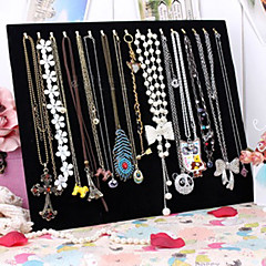 cheap Beads & Jewelry Making-Women's Jewelry Displays Square Black Fabric Fashion Party Daily Casual