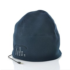 iphoneタブレットMP3用ビーニー帽子内蔵のヘッドフォン3.5ミリメートル