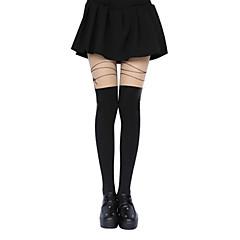 Strumpor/Strumpbyxor Klassisk/Traditionell Lolita Lolita Lolita lolita tillbehör Strumpbyxor Tryck För Polyester