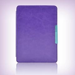 verlegen beer ™ kant houder stijl lederen beschermhoes voor Amazon Kindle Paperwhite 6 inch e-boek