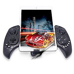 ipega pg9023 telescópica Bluetooth v3.0 controlador para iphone / ipod / ipad + android + mais - preto