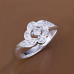 baratos Anéis-Anel - Estiloso Prata Para Casamento / Festa / Noite