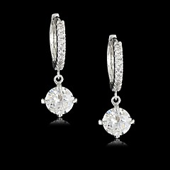 cheap Earrings-Women's Cubic Zirconia Brass Vermeil Irregular Jewelry Costume Jewelry