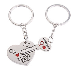Beach Theme Garden Theme Classic Theme Fairytale Theme Keychain Favors Stainless Steel Keychains-Piece/Set