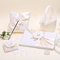 preiswerte Hochzeits-Zeremonie-Blumen Urlaub Klassisch Hochzeits Accessoires Set Geschenke Anderen Mit Würfel Satin Sonstiges