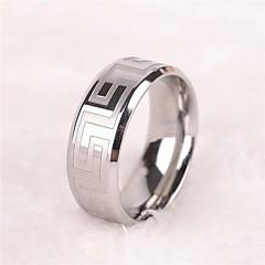 指輪 ジュエリー ステンレス鋼 指輪 バンドリング 1個