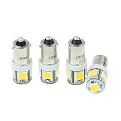 tanie Światła samochodowe-SO.K BA9S Żarówki SMD LED / Wysoko wydajny LED 160-180 lm Włącz sygnał świetlny Na Univerzál