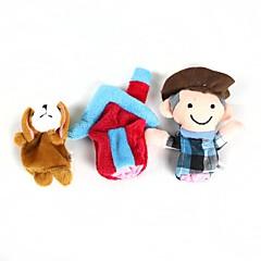 Prstová loutka Hračky Animák Nové hračky Pro chlapce / Pro dívky Plyš