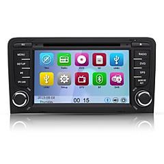 "7 ""2 din bluetooth, CanBus, gps, ipod, rds, swc, wifi ile 2003 ~ 2011 audi a3 6.0 araba dvd oynatıcı WindowsCE"