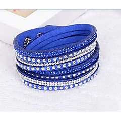 cheap Bracelets-Unisex Rhinestone Chain Resin Jewelry Wedding Party Special Occasion Birthday Engagement Gift Daily Casual Office & Career Outdoor