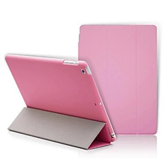 iPad 2 / iPad 3 / iPad 4 yhteensopiva uutuus pu nahka Smart Case kansi s matta tapauksessa