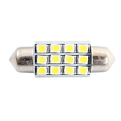 billige Interiørlamper til bil-SO.K T11 Elpærer 2 W SMD LED 80 lm LED interiør Lights