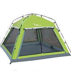 billige Telt og ly-FLYTOP 2 personer Telt Skjermtelt Skjermhus Tredobbelt camping Tent Ett Rom Vanntett Fort Tørring Vindtett Ultraviolet Motstandsdyktig