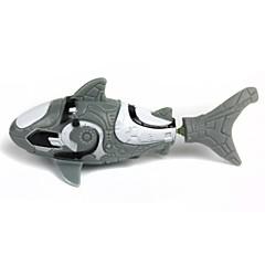 preiswerte Wasserspielzeug-Roboterfisch Wasserspielzeug Electronic Toy Spielzeuge Wasserfest Fische Shark Kunststoff 1 Stücke Kinder Weihnachten Kindertag Geburtstag