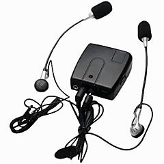 baratos Fones para Capacetes de Motocicleta-motocicleta wi10 interfone com fio interfone walkie talkie para piloto e garupa motorista apoio mp3