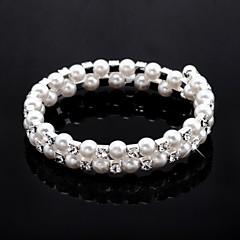Ladies'/Child's Fashion With Crystal/Imitation Pearl/Cubic Zirconia Bracelet