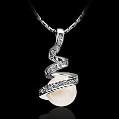 Damskie Naszyjniki z wisiorkami Srebro standardowe biżuteria kostiumowa Biżuteria Na Impreza Casual