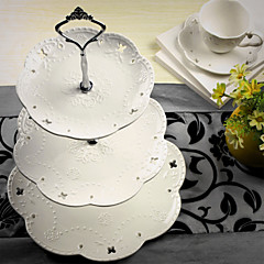 ケーキトッパー ハート セラミック 結婚式 ブライダルシャワー クラシックテーマ ギフトボックス