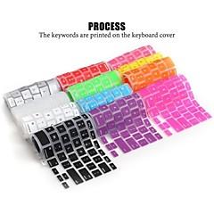 lention weichen langlebigen Silikon Tastaturabdeckung Haut für Laptop Apple MacBook Air MacBook Pro 13/15/17 (Farbe sortiert)