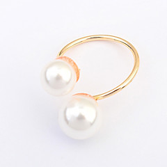 cheap Rings-Women's , Imitation Pearl Classic Alloy Princess Costume Jewelry Party / Evening