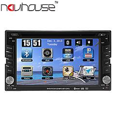 billiga DVD-spelare till bilen-6.2 tum 2 Din Windows CE 6.0 / Windows CE In-Dash DVD-spelare GPS / Pekskärm / Inbyggd Bluetooth för Stöd / iPod / RDS / Rattstyrning / Subwoofer-utgång / Spel