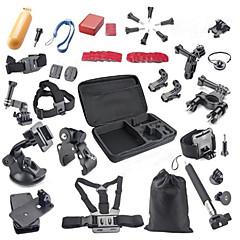 tanie Kamery sportowe i akcesoria GoPro-Przyciąć Torby Śrubka bateria boja ssania Na ramiączkach Uchwyty do ręki Statyw Wiązanie Wszystko w Jednym Dla Action Camera Gopro 5