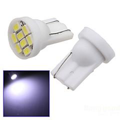 billige Interiørlamper til bil-SO.K 2pcs T10 Bil Elpærer SMD LED 8 interiør Lights