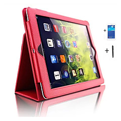 PU leather bracket cover case back insertion smart Dormancy protection sleeve For iPad (2017) Pro10.5 Pro9.7 iPad Air Air2 iPad234 +Screen Protector