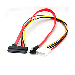 4ピンIDEモレックスの22ピンSATA電源データ&SATAポートコネクタケーブル