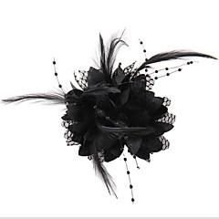 Ženy Krajka Imitace perly Šifón Přílba-Svatba Zvláštní příležitost Neformální Outdoor Ozdoby do vlasů Květiny Çelenkler Jeden díl