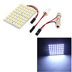 billige Interiørlamper til bil-SO.K T10 Bil Elpærer 8 W SMD 5050 500 lm 48 utvendig Lights