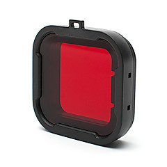 cheap Accessories For GoPro-Accessories Protective Case Dive Filter High Quality For Action Camera Gopro 4 Gopro 3+ Gopro 2 Sports DV Others Plastic