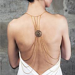 Žene Nakit za tijelo Tijelo Chain / Belly Chain Legura Izjava Nakit luksuzni nakit zaslon u boji Jewelry Kauzalni