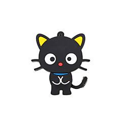 sarjakuva uusi musta söpö kissa usb 2.0 muistitikku Stick kynä ajaa 16gb