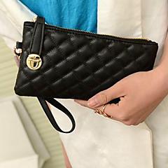 Χαμηλού Κόστους Bags on sale-Γυναικεία Τσάντες PU Βραδινή τσάντα για Causal Όλες οι εποχές Λευκό Μαύρο Κόκκινο