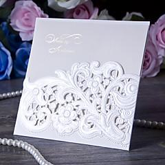 baratos Convites de Casamento-Embrulhado e de Bolso Convites de casamento-Cartões de convite Papel de Cartão