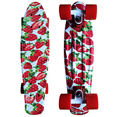 22 Inch Strawberry Standard Skateboards Plastic PP (Polypropylene) Abec-9