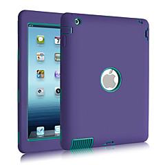 Hülle Für Stoßresistent Staubdicht Wasserdicht Handyhülle für das ganze Handy Volltonfarbe Silikon für iPad 4/3/2