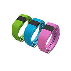 tw64 smartband IOS Android用ブレスレットウェアラブル生活防水歩数計smartwatch