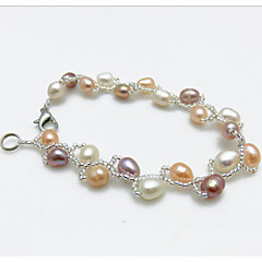cheap Bracelets-Women's Pearl Strand Pearl Jewelry Wedding Party Special Occasion Anniversary Birthday Engagement Gift Daily Casual Office & Career