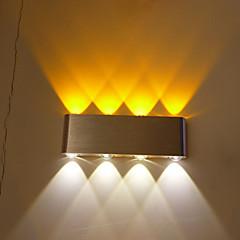 Χαμηλού Κόστους Ξεχωριστές απλίκες-Σύγχρονη Σύγχρονη Διάδρομος Μέταλλο Wall Light 220 V / Ενσωματωμένο LED