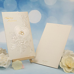 cheap Wedding Invitations-Tri-Fold Wedding Invitations 50 - Others Invitation Cards Classic Material Pearl Paper Flower