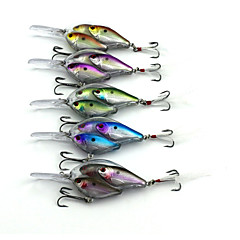 5pcs Hengjia Long Lip Crankbaits 17.1g  97mm Fishing lures