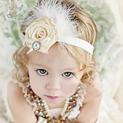 baratos Acessórios para Crianças-Infantil / Bébé Para Meninas Algodão Acessórios de Cabelo Branco / Bandanas