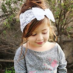 baratos Acessórios para Crianças-Bébé Para Meninas Doce Laço Renda Acessórios de Cabelo / Bandanas