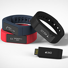 I5+ Smart Bracelet Water Resistant / Water Proof Message Control Sleep Tracker Bluetooth4.0 iOS Android Windows Phone