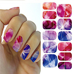 halpa -3D Nail Stickers / Nail Jewelry - PVC - Punk - Sormi - 145*75mm - 1pcs