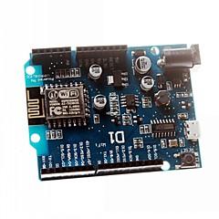رخيصةأون -درع esp8266 الالكترونيات الذكية wemos ESP-12E D1 واي فاي أونو القائمة على اردوينو متوافق