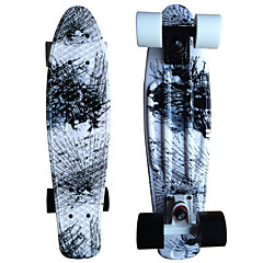 Standard Skateboards PU Stripe Black/White